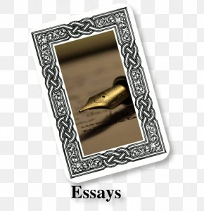 Silver - Picture Frames Silver Essay Rectangle Font PNG