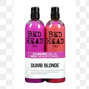 Hair - Bed Head Dumb Blonde Shampoo Hair Care Bed Head Urban Anti-dotes Resurrection Shampoo Bed Head Urban Antidotes Re-Energize Shampoo PNG