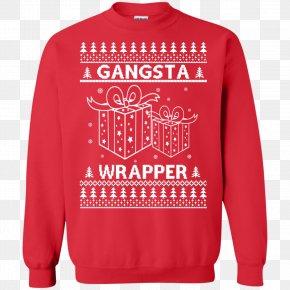 T-shirt - T-shirt Christmas Jumper Hoodie Sweater Crew Neck PNG