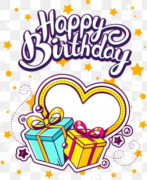 Birthday - Birthday Gift Greeting Card Illustration PNG