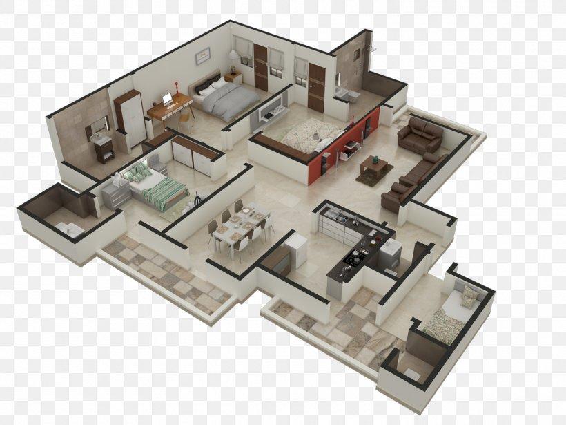 3D Floor Plan Interior Design Services Architecture, PNG ...