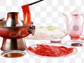 Winter Hot Pot Meal - Hot Pot Beef Dinner Food PNG