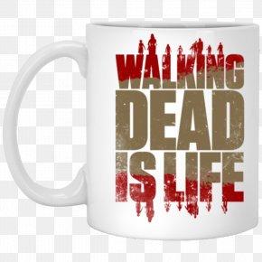 Season 4 The Walking DeadSeason 1 Television Show AMCMug Coffee - The Walking Dead PNG