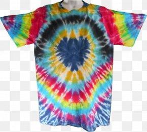 Tshirt - T-shirt Textile Dye Magenta Sleeve PNG