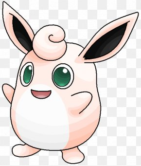 Pokemon - Wigglytuff Pokémon Red And Blue Igglybuff Drawing PNG