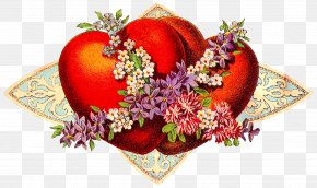 Vintage Valentine Pictures - Valentine's Day Heart February 14 Clip Art PNG