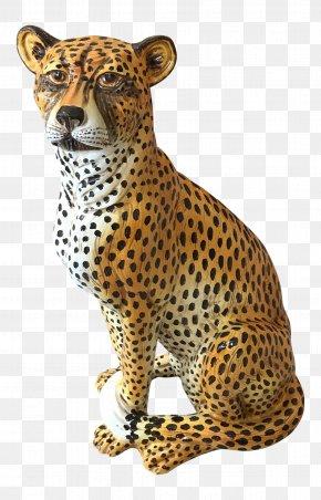 Cheetah - Cheetah Leopard Jaguar Whiskers Terracotta PNG