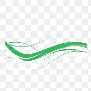 Vector Green Ribbon Celebration Ribbon - Green Red Ribbon PNG