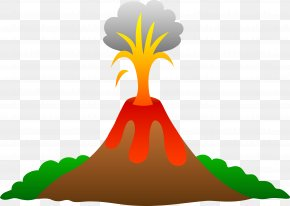 Volcano Transparent Background - Volcano Lava Animation Clip Art PNG