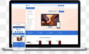 MagazinModel.ro Computer Software Responsive Web Design Web ApplicationMockup Design - Play Solutions PNG
