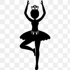 Silhouette - Ballet Dancer Silhouette PNG