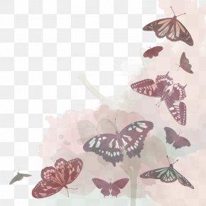 Vector Butterfly - Butterfly Moth Euclidean Vector PNG
