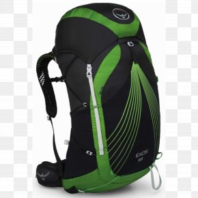 Backpack - Osprey Exos 58 Backpack Hiking Pacific Crest Trail PNG