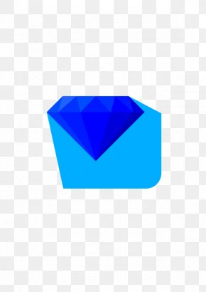 Vector Elements Blue Sapphire Diamond - Sapphire Blue Diamond Euclidean Vector PNG