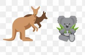 Kangaroo - Australia Element Euclidean Vector PNG