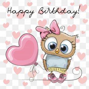 Cute Owl - Owl Cartoon Royalty-free PNG