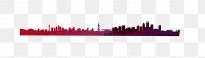 Distant City - Violet Rectangle PNG