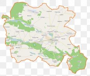 Map - Biskupice, Poznań County Kociałkowa Górka Jerzykowo, Poznań County Wagowo Bednary, Greater Poland Voivodeship PNG
