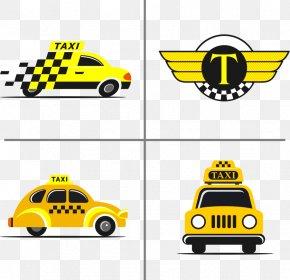 Vector Taxi Sign - Taxi Euclidean Vector Stock Illustration PNG
