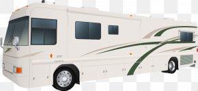 Vector Bus - Car Bus Mobile Home Recreational Vehicle Clip Art PNG