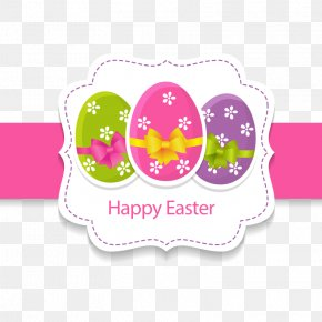 Fresh Easter Egg Greeting Card Vector - Easter Bunny Wedding Invitation Paper Greeting Card PNG