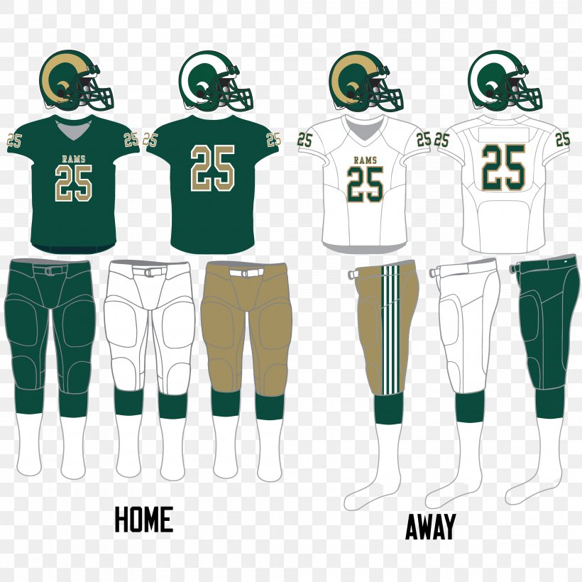 Jersey Regina Rams Taylor Field Mosaic Stadium Rams Football, PNG, 4000x4000px, Jersey, American Football, Clothing, Green, Joint Download Free