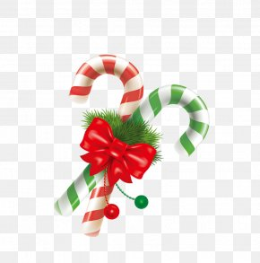 Christmas Candy Cane - Candy Cane Christmas Lollipop PNG