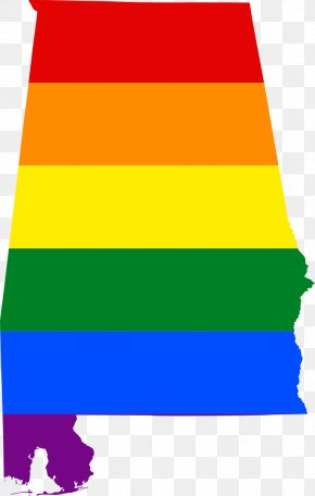 Colors Flag Color Guard - Flag Of Alabama LGBT Rights In Alabama Rainbow Flag PNG