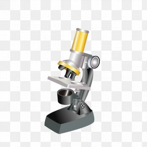 Cartoon Microscope Model - Microscope Cartoon Clip Art PNG