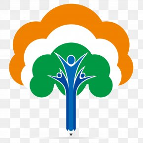 India's Republic Day Tree Vector Logo - India Republic Day Illustration PNG