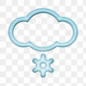 Meteorological Phenomenon Symbol - Snow Icon PNG