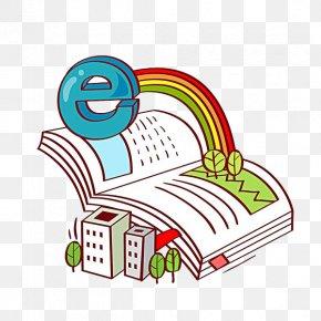 Books On The Internet - Internet Book Gratis Illustration PNG