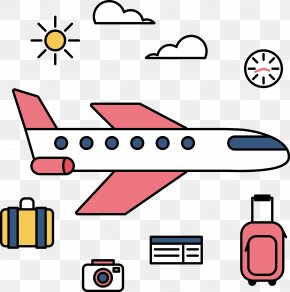 Vacation Related Graphics Vector - Tourism Motion Graphics Clip Art PNG