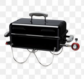 Barbecue - Barbecue Weber Go-Anywhere Gas Grill Teppanyaki Weber-Stephen Products Grilling PNG