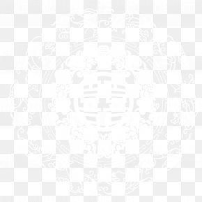 White Chinese Wind Hi Word Paper Cutting Pattern Decoration Pattern - White Black Pattern PNG