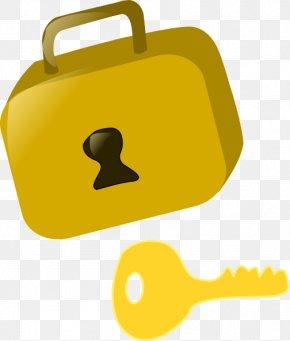 Locks Cliparts - Key Padlock Clip Art PNG