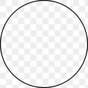 Circle - Circle Black And White Clip Art PNG