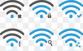 Vector Creative Rub Network Software - Wi-Fi Logo Wireless Network Icon PNG