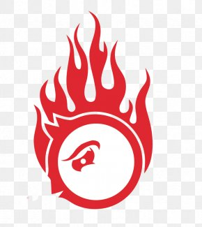 Cartoon Hand-painted Anxious Logo - Logo Flame Combustion PNG