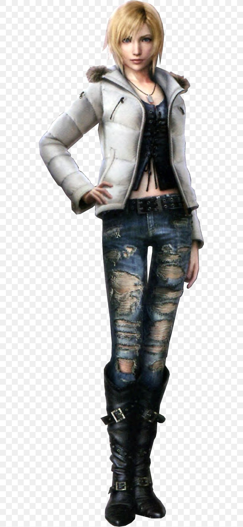 The 3rd Birthday Parasite Eve Series Aya Brea Video Game Png