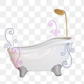 Hand-painted Bathtub - Bathtub Bathroom Gratis PNG