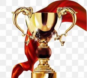 Textured Metal Trophy - Trophy PNG