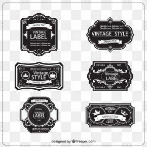 Label,Retro Label,style,Retro,Retro Label - Vintage Clothing Label Etiquette PNG