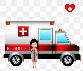 Doctor Ambulance - Ambulance Health Care Icon PNG