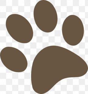Dog Print - Dog Brown Bear Paw Clip Art PNG