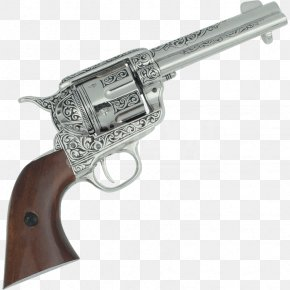 Colt Conversion Revolver - Revolver Trigger Firearm Colt Single Action Army Pistol PNG