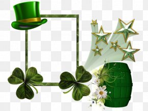 Saint Patrick - Saint Patrick's Day March 17 Party Woman PNG