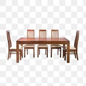 Dining Table - Table Chair Furniture Dining Room Matbord PNG