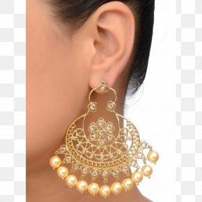 Necklace - Earring Chandbali Necklace Diamond Jewellery PNG