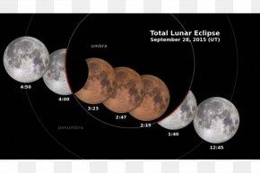 Lunar Eclipse - January 2018 Lunar Eclipse September 2015 Lunar Eclipse Supermoon Solar Eclipse PNG
